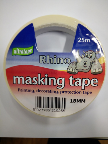 Ultratape Rhino Masking Tape 18mm x 25m